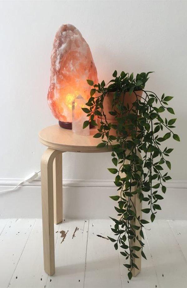 Lampada di sale rosa himalayano 6/8kg