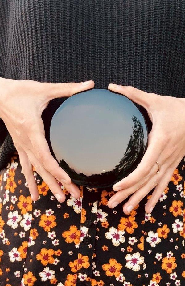 specchio di Ossidiana Nera