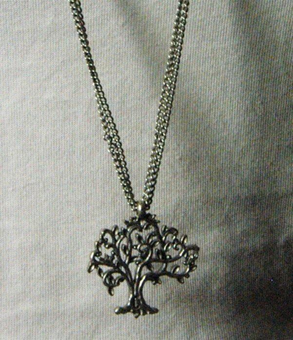 Collana albero zama