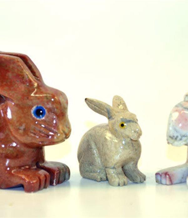Coniglio pietra cm.3