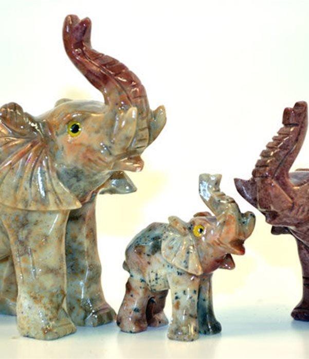 Elefante pietra  cm.5