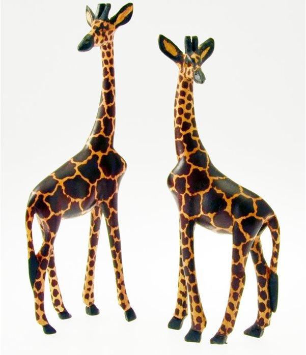 Giraffa in legno cm. 20
