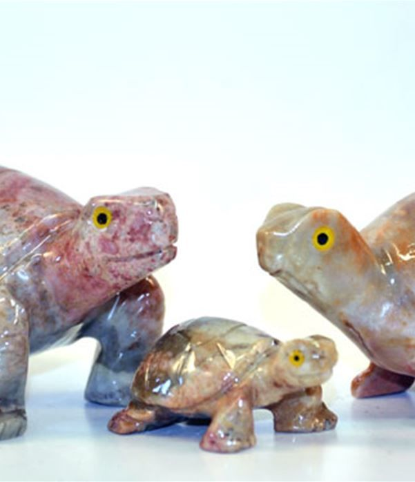 Tartaruga pietra cm.3